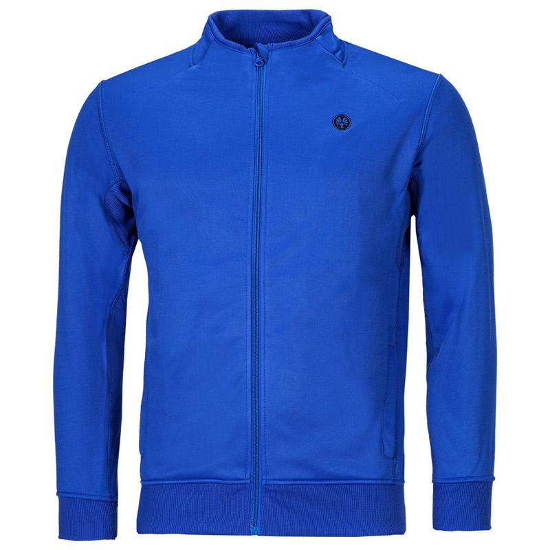 dfb126dcbe87 Trainingsjacke blau