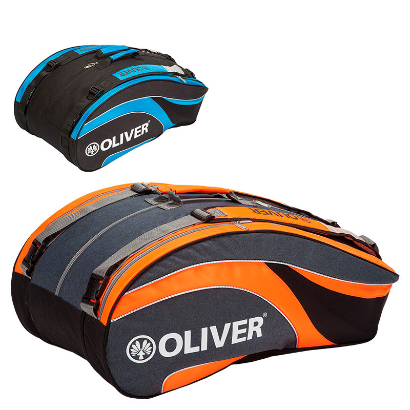 6f6acb6a9e76e8 Professional thermobag for squash, badminton and tennis rackets. It has  three large compartments, a compartment with a racket thermo function, a  side pocket ...